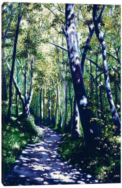 Summer Woods Canvas Art Print
