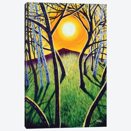 Sunrise Over The Mountain Canvas Print #JLK62} by Jerry Lee Kirk Canvas Art Print