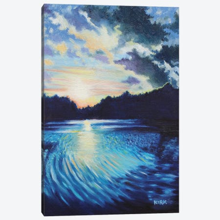 Sunset On Chetola Canvas Print #JLK63} by Jerry Lee Kirk Canvas Print