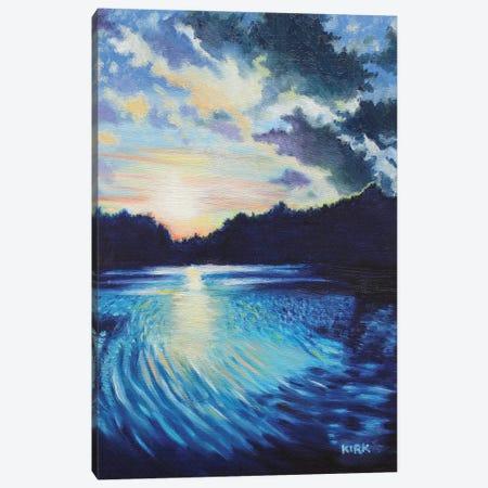 Sunset On Chetola Canvas Print #JLK63} by Jerry Lee Kirk Canvas Print