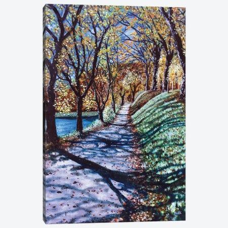 Sunshine Day Canvas Print #JLK66} by Jerry Lee Kirk Canvas Artwork
