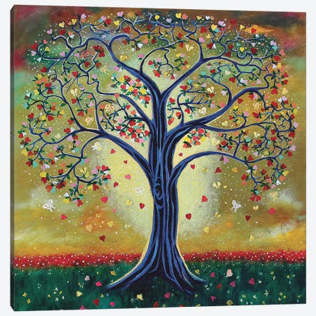 The Giving Tree Canvas Print #JLK69} by Jerry Lee Kirk Art Print