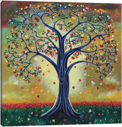 The Giving Tree Canvas Art Print