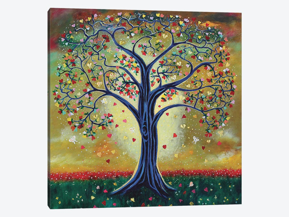 The Giving Tree by Jerry Lee Kirk 1-piece Canvas Artwork