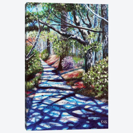 The Walk Around Broyhill Park Canvas Print #JLK73} by Jerry Lee Kirk Canvas Artwork