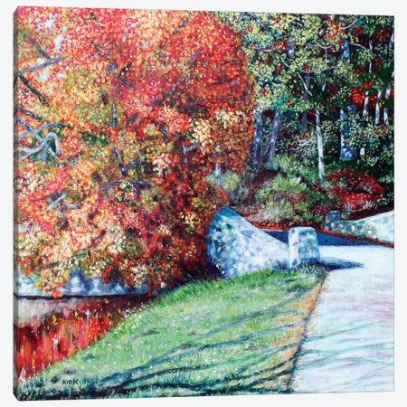 Autumn Blaze Canvas Print #JLK7} by Jerry Lee Kirk Canvas Art Print