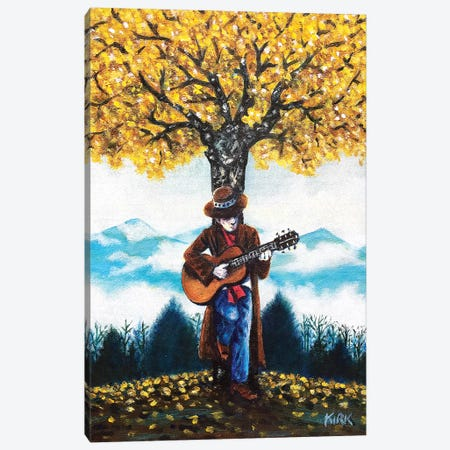 Ballad For The Last Tree Of Autumn Canvas Print #JLK87} by Jerry Lee Kirk Canvas Art