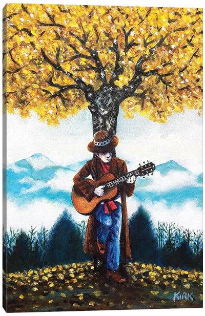 Ballad For The Last Tree Of Autumn Canvas Art Print