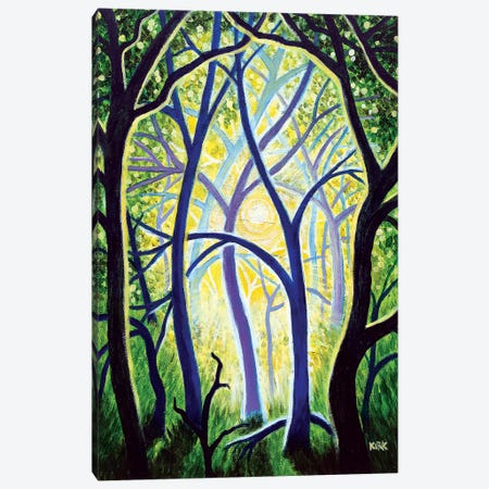The Trees Dance A Ballet Canvas Print #JLK93} by Jerry Lee Kirk Canvas Art