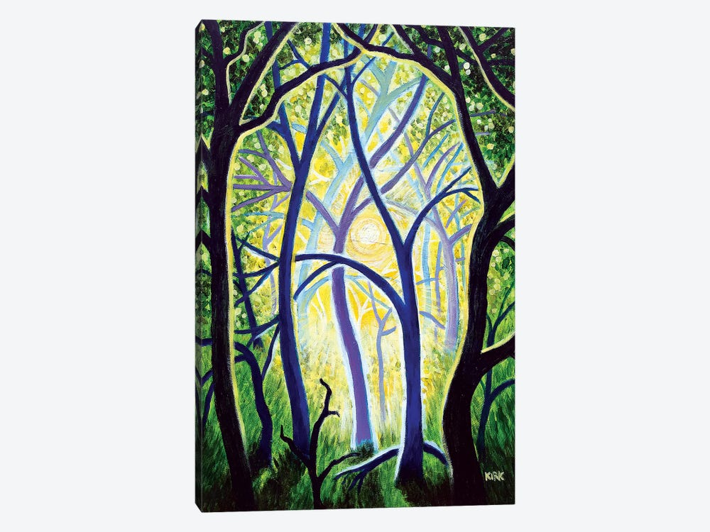The Trees Dance A Ballet by Jerry Lee Kirk 1-piece Canvas Art Print