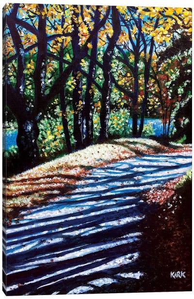Towards The Light Canvas Art Print