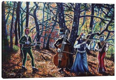 Ode To Autumn Canvas Art Print