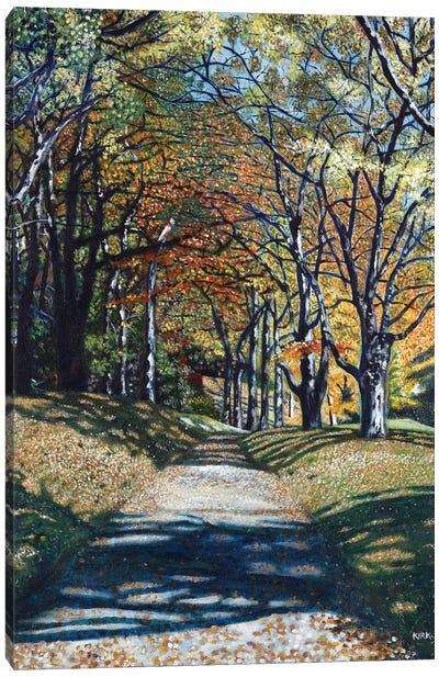 Autumn Trail Canvas Art Print