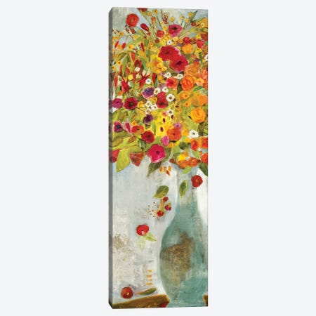 Exuberance I 3-Piece Canvas #JLL10} by Jill Martin Art Print