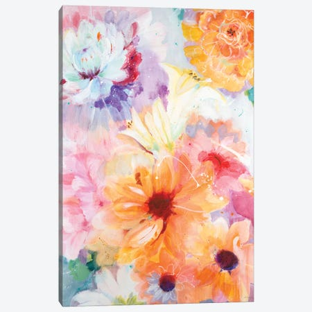 Floral Array Canvas Print #JLL123} by Jill Martin Canvas Art Print