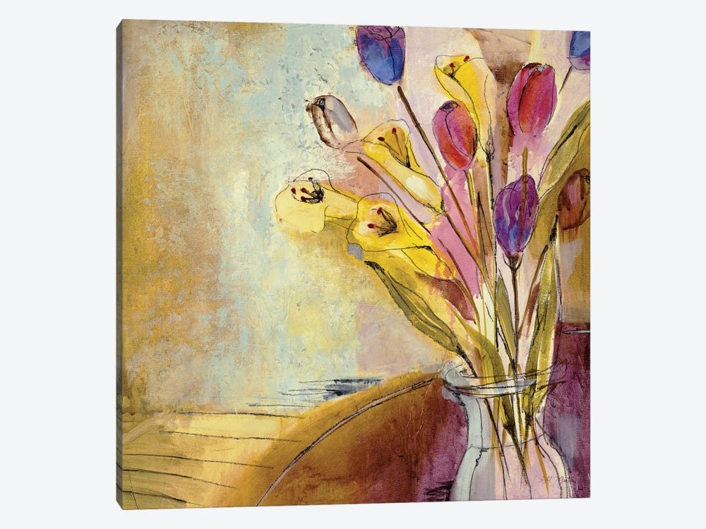 Fandango II by Jill Martin 1-piece Canvas Art