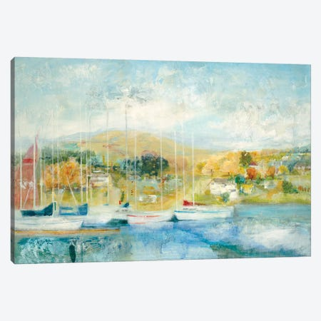 Maritime  3-Piece Canvas #JLL146} by Jill Martin Canvas Artwork