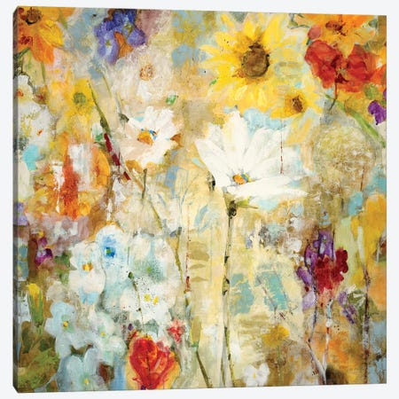 Fugue Canvas Print #JLL14} by Jill Martin Canvas Wall Art