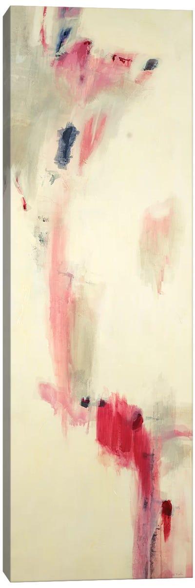 Pink, Grey Algorithm  Canvas Art Print