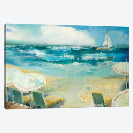 Seaside Harbor I Canvas Print #JLL167} by Jill Martin Canvas Artwork