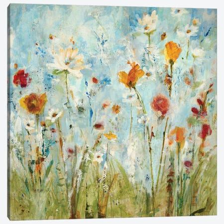 Jounce 3-Piece Canvas #JLL20} by Jill Martin Canvas Artwork