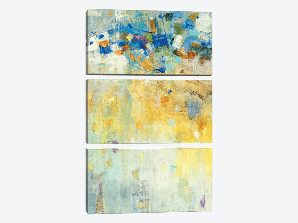 Meeting Place II by Jill Martin 3-piece Canvas Art Print