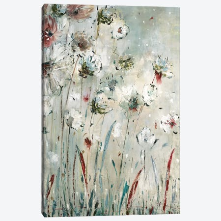 Night Flowers Canvas Print #JLL27} by Jill Martin Canvas Art Print