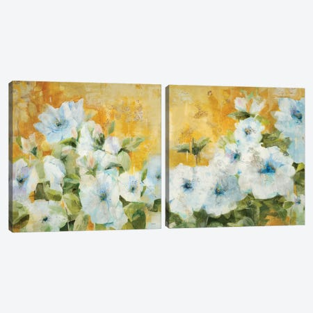 Intuition Diptych Canvas Print Set #JLL2HSET001} by Jill Martin Art Print