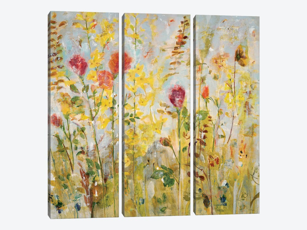 Spring Medley by Jill Martin 3-piece Canvas Print