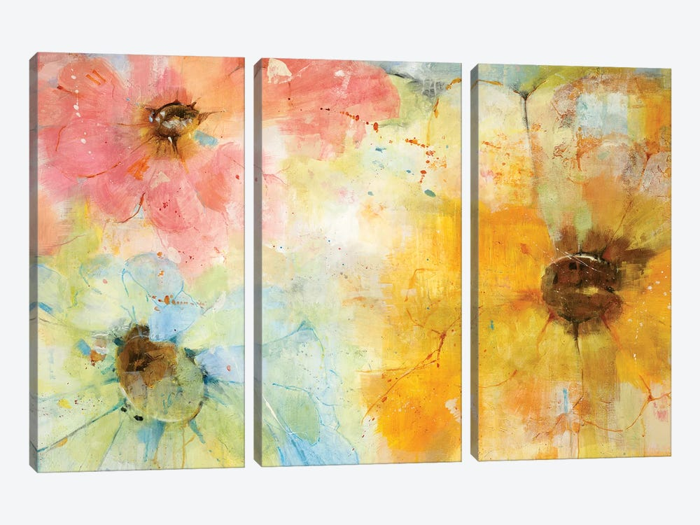 Trio by Jill Martin 3-piece Canvas Artwork