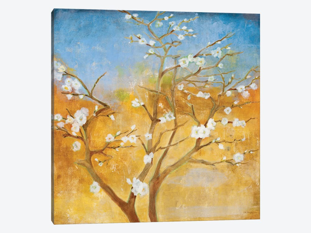 White Emanations by Jill Martin 1-piece Canvas Art
