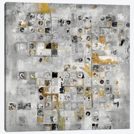Axiom (Gray) Canvas Print #JLL38} by Jill Martin Canvas Art Print