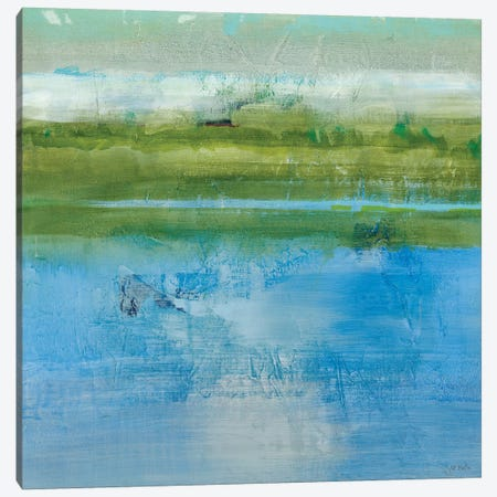 Azure Bound II 3-Piece Canvas #JLL42} by Jill Martin Canvas Wall Art
