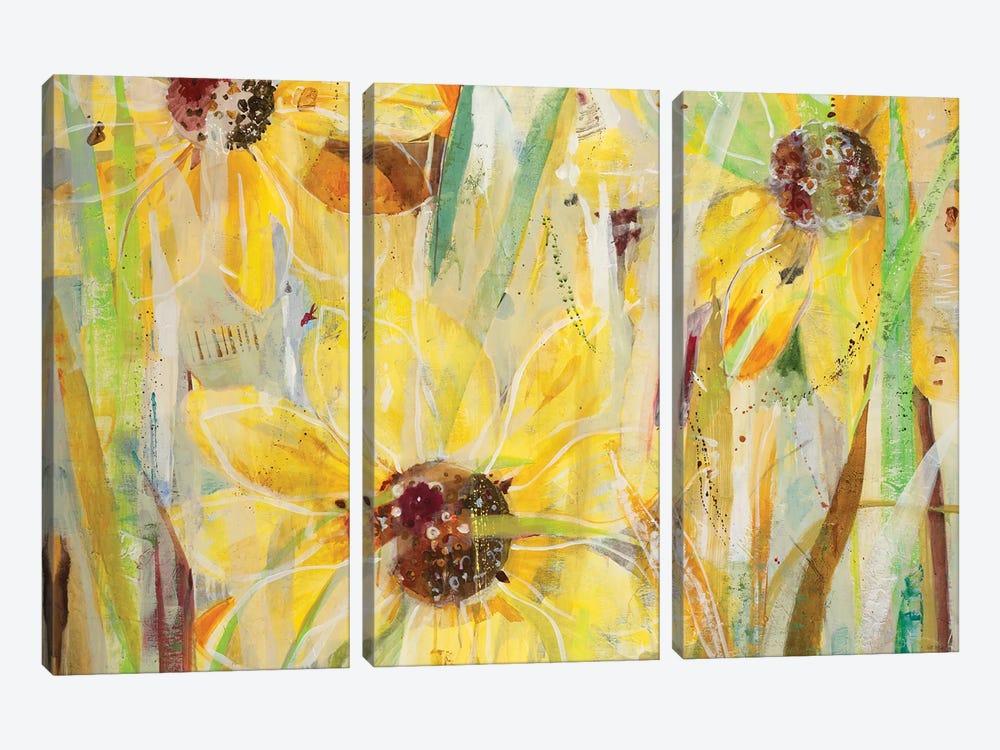 Finding Happiness by Jill Martin 3-piece Canvas Art