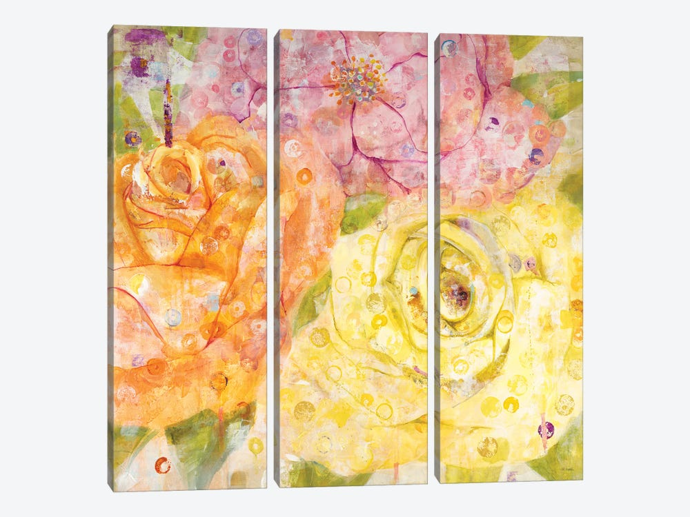 Untitled by Jill Martin 3-piece Canvas Artwork