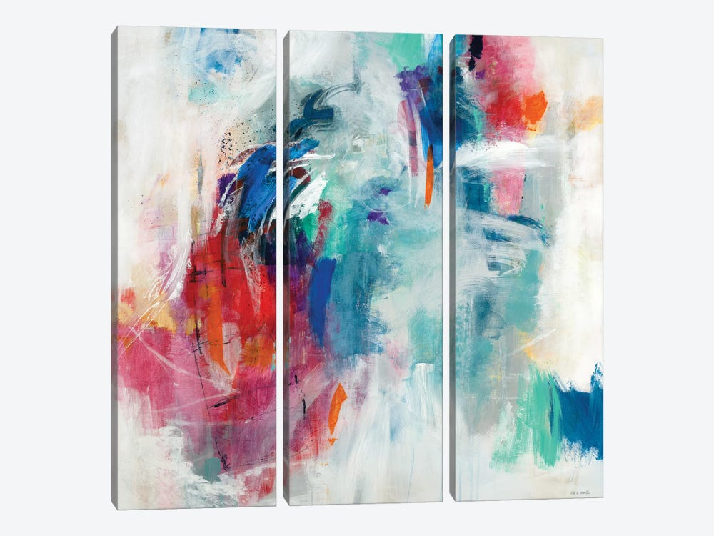 High Flying Act II by Jill Martin 3-piece Canvas Art