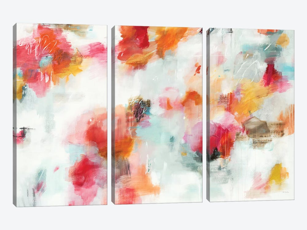 Looking the Other Way by Jill Martin 3-piece Canvas Artwork