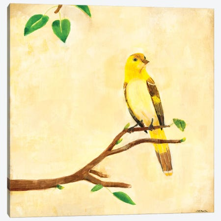 Bird Song I Canvas Print #JLL89} by Jill Martin Canvas Artwork