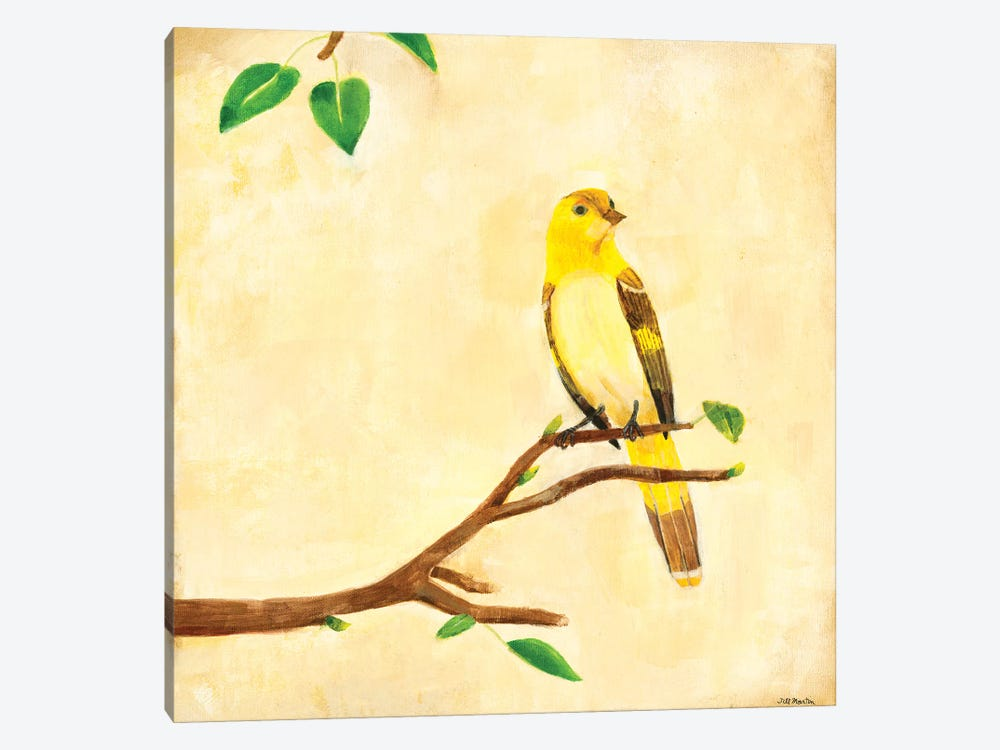 Bird Song I by Jill Martin 1-piece Canvas Art Print