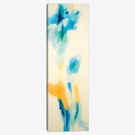 Blue, Orange Algorithm  Canvas Print #JLL96} by Jill Martin Canvas Wall Art