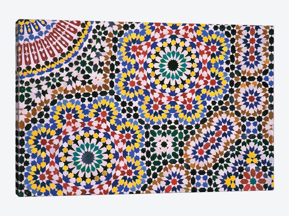 Zellij Floor by Merrill Images 1-piece Canvas Art