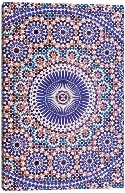 Zellij, Meknes, Morocco Canvas Art Print