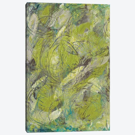 Citron Circuit II Canvas Print #JLN10} by J. Holland Canvas Art Print