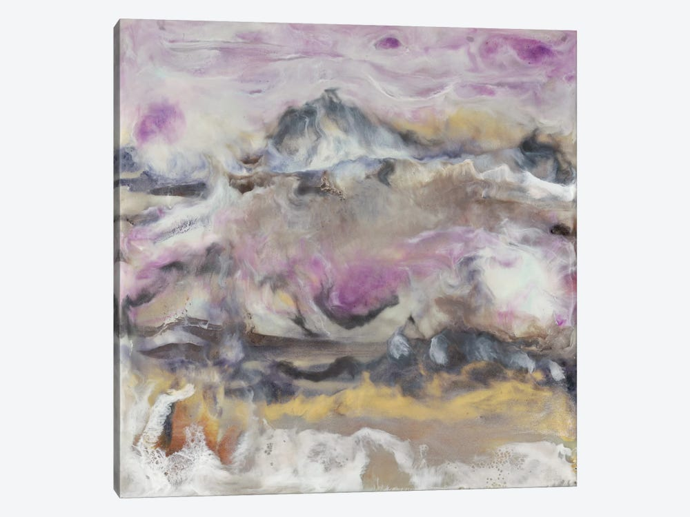 Lavender Billows I by J. Holland 1-piece Canvas Print