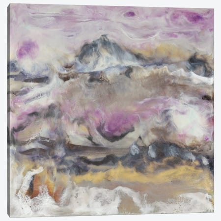 Lavender Billows I Canvas Print #JLN13} by J. Holland Canvas Print