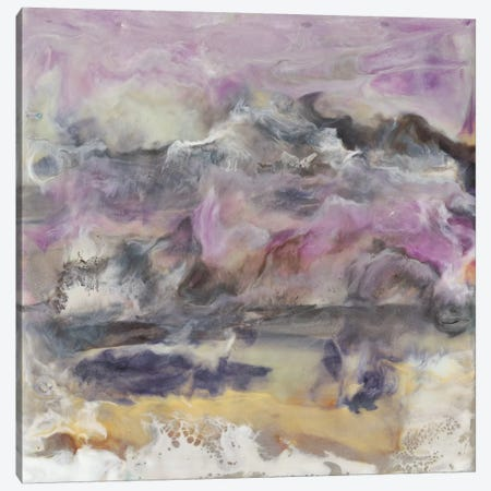 Lavender Billows II Canvas Print #JLN14} by J. Holland Canvas Art