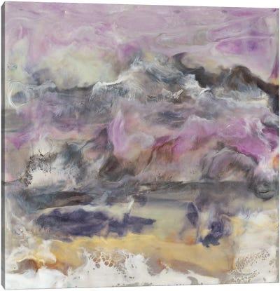 Lavender Billows II Canvas Art Print