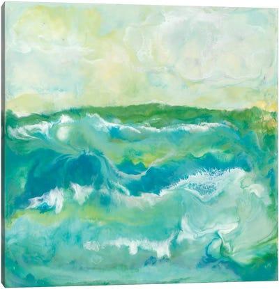 Turquoise Sea I Canvas Art Print