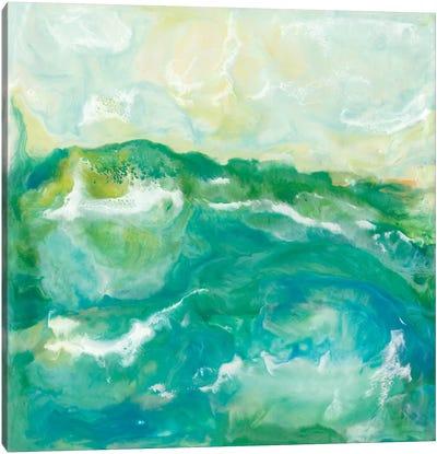 Turquoise Sea II Canvas Art Print