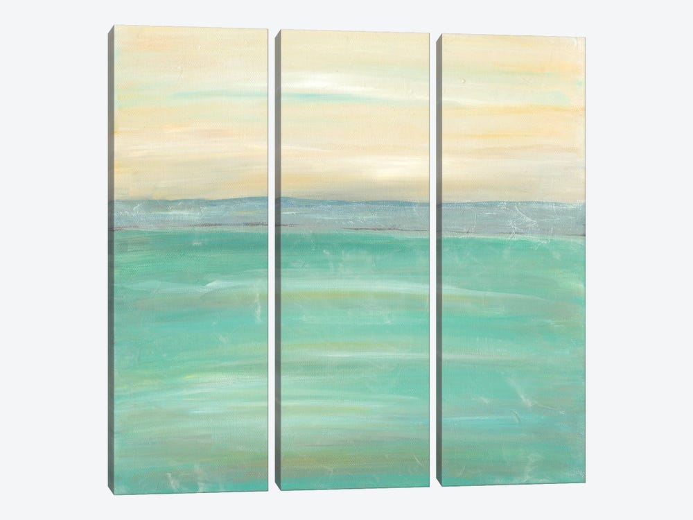 Serenity I by J. Holland 3-piece Canvas Print